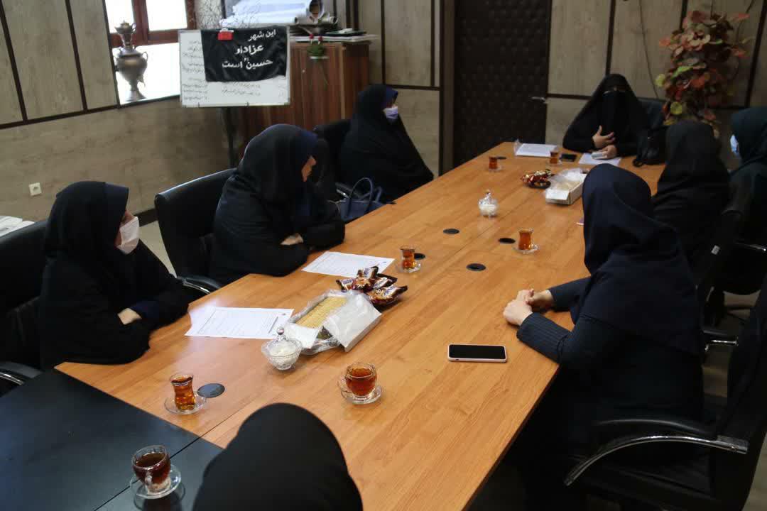 photo 2020 09 19 10 00 47 - برگزاری سومین جلسه حلقه سرگروه های صالحین با موضوع عفاف و حجاب و سلامت اداری