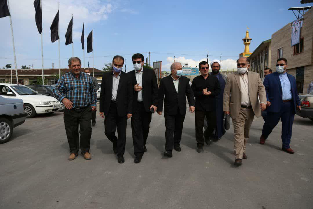 photo 2020 10 01 11 47 46 - گزارش تصویری تجدید میثاق شهردار منتخب رشت با آرمان های شهدا