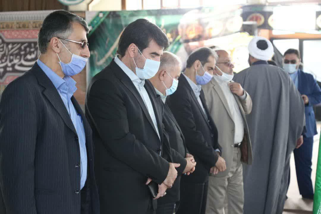 photo 2020 10 01 11 47 51 - گزارش تصویری تجدید میثاق شهردار منتخب رشت با آرمان های شهدا